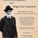 Curso monográfico sobre Miguel de Unamuno